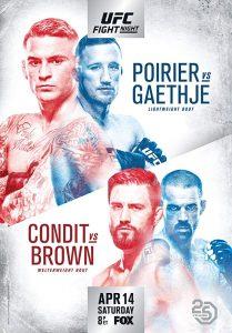 UFC on Fox: Poirier vs. Gaethje 2