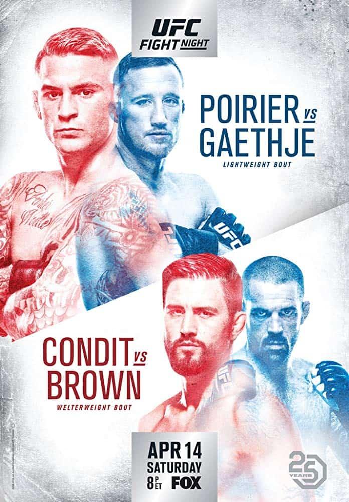UFC on Fox: Poirier vs. Gaethje 1