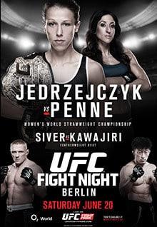UFC Fight Night: Jedrzejczyk vs. Penne 1
