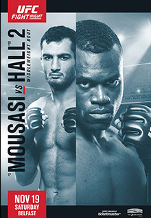 UFC Fight Night: Mousasi vs. Hall 2 1