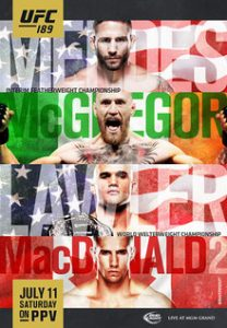 UFC 189: Mendes vs. McGregor 2