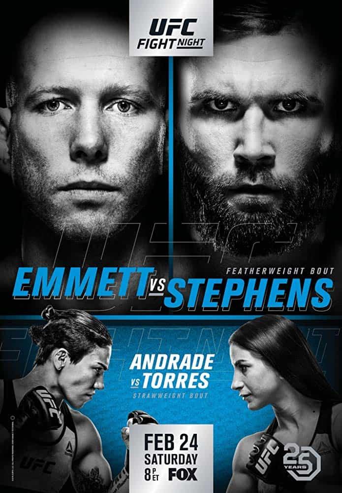 UFC on Fox: Emmett vs. Stephens 1