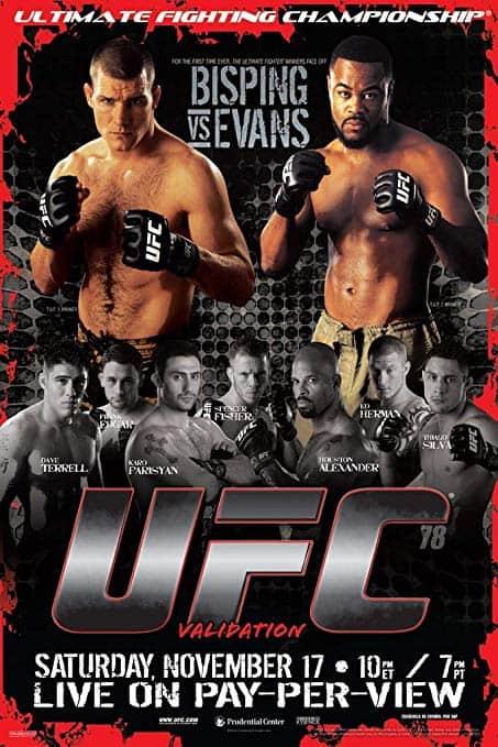 UFC 78: Validation 1