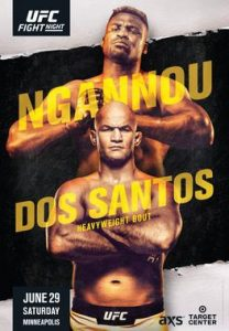 UFC on ESPN: Ngannou vs. dos Santos 2