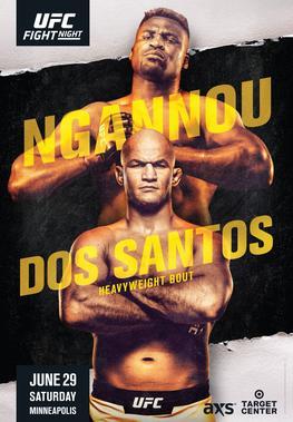 UFC on ESPN: Ngannou vs. dos Santos 1