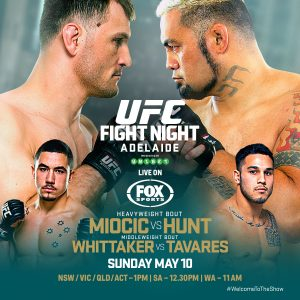UFC Fight Night: Miocic vs. Hunt 2