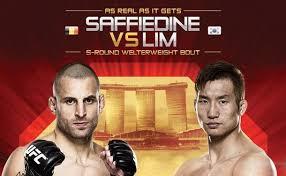 UFC Fight Night: Saffiedine vs. Lim 1