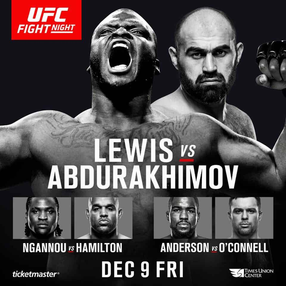 UFC Fight Night: Lewis vs. Abdurakhimov 1