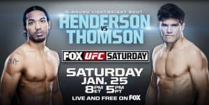 UFC on Fox: Henderson vs. Thomson 2