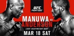 UFC Fight Night: Manuwa vs. Anderson 2