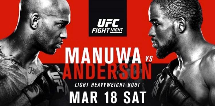 UFC Fight Night: Manuwa vs. Anderson 1