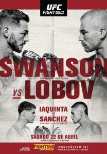 UFC Fight Night: Swanson vs. Lobov 2