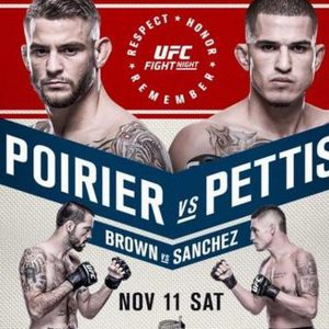 UFC Fight Night: Poirier vs. Pettis 2