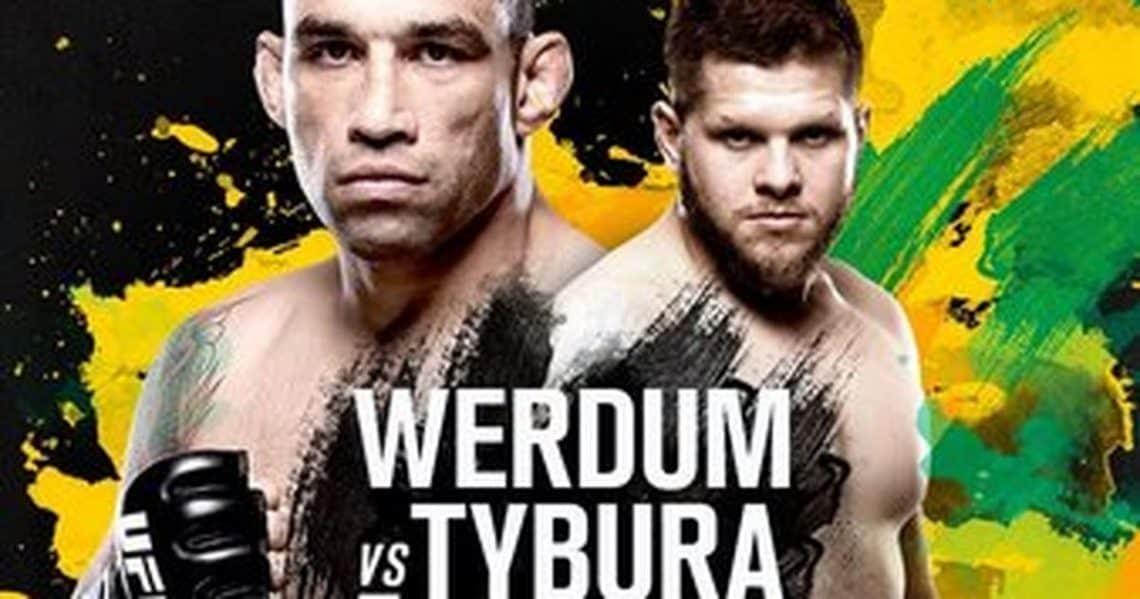UFC Fight Night: Werdum vs. Tybura 1
