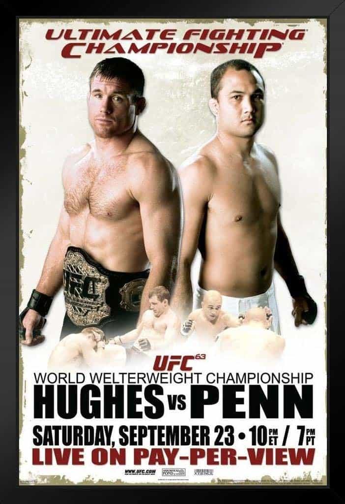UFC 63: Hughes vs. Penn 1