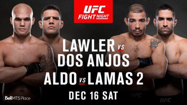 UFC on Fox: Lawler vs. dos Anjos 1