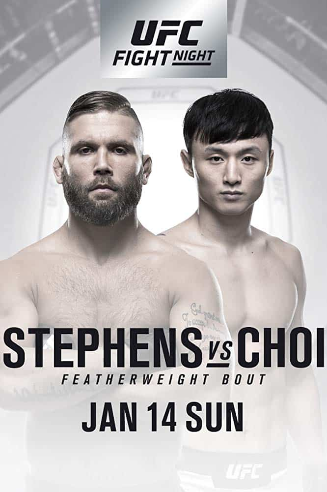 UFC Fight Night: Stephens vs. Choi 1