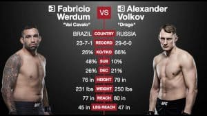 UFC Fight Night: Werdum vs. Volkov 2