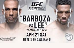 UFC Fight Night: Barboza vs. Lee 2