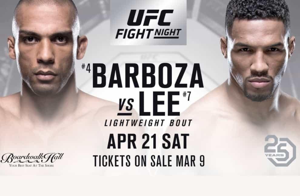 UFC Fight Night: Barboza vs. Lee 1