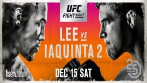 UFC on Fox: Lee vs. Iaquinta 2 2