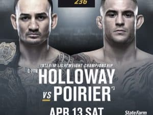 UFC 236: Holloway vs. Poirier 2 2
