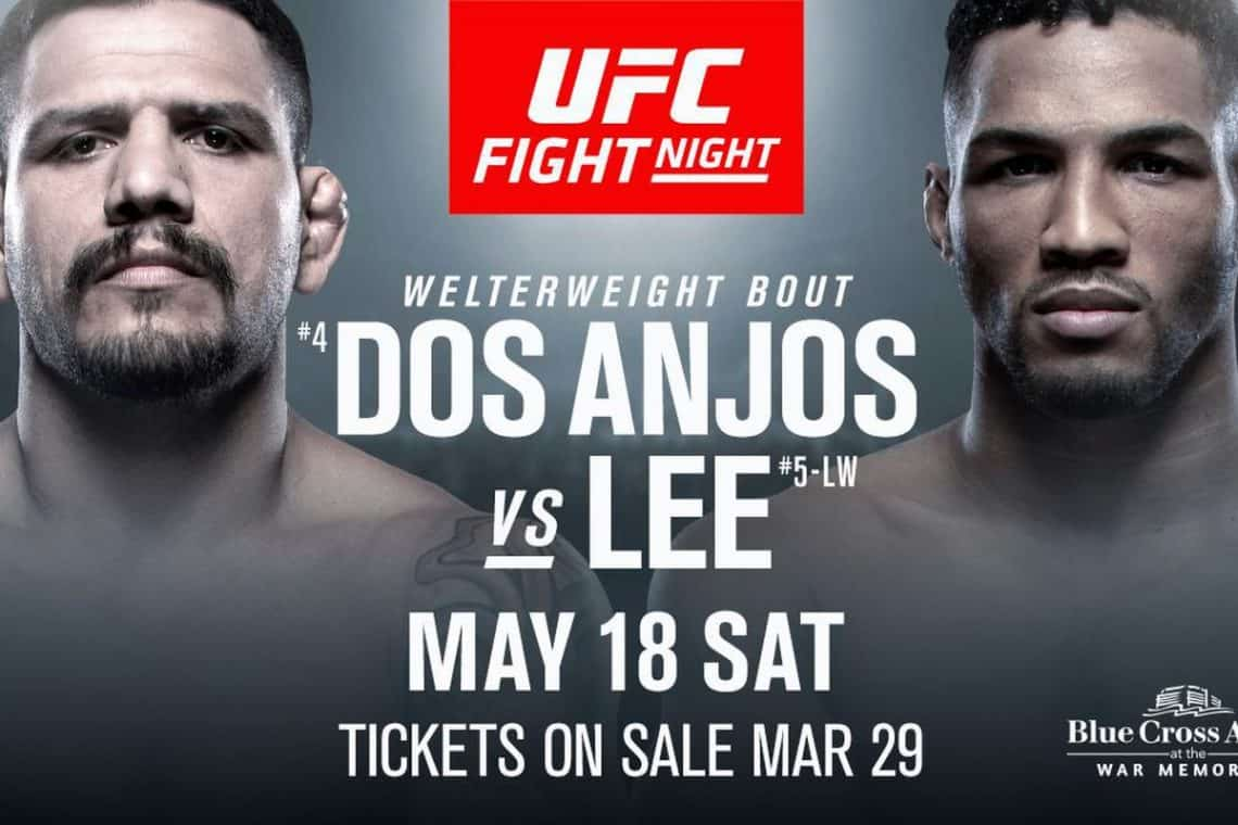 UFC Fight Night: dos Anjos vs. Lee 1