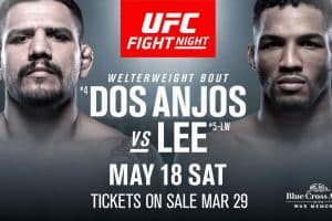 UFC Fight Night: dos Anjos vs. Lee 2