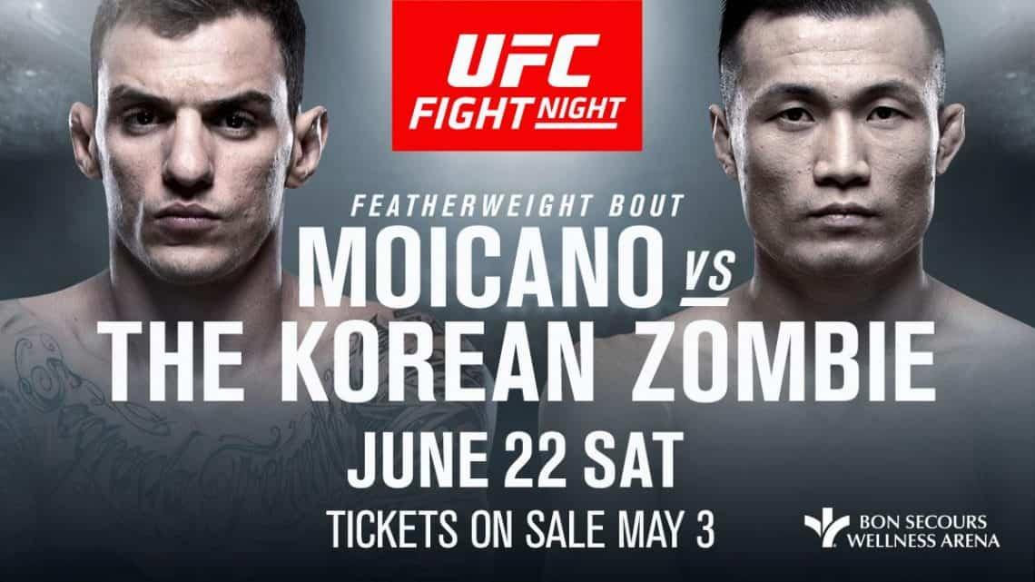 UFC Fight Night: Moicano vs. Korean Zombie 1
