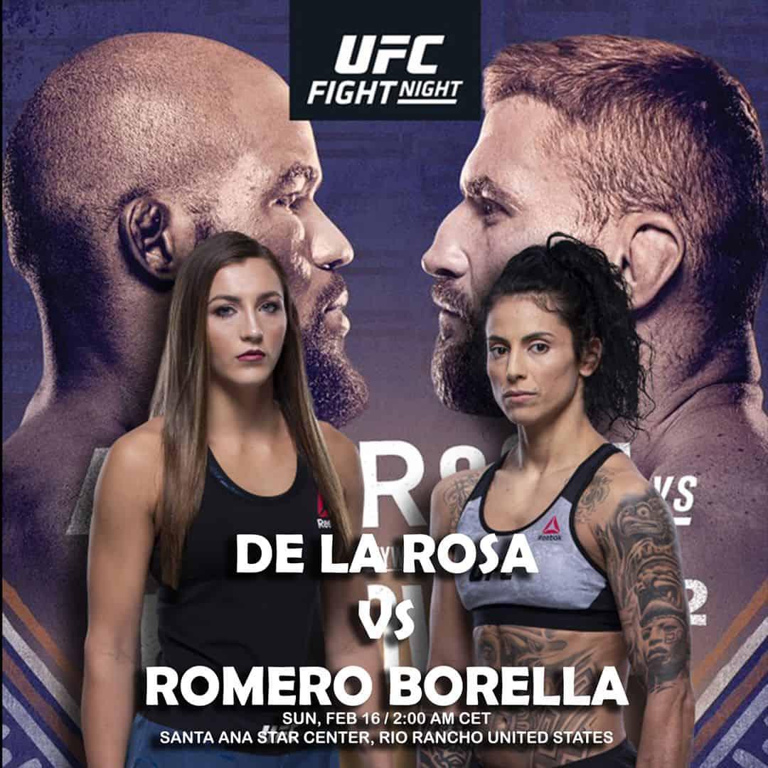 UFC Fight Night: Anderson vs. Blachowicz 2 (con Mara Romero Borella) 1