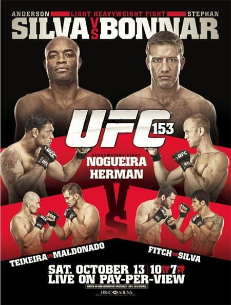 UFC 153: Silva vs. Bonnar 1
