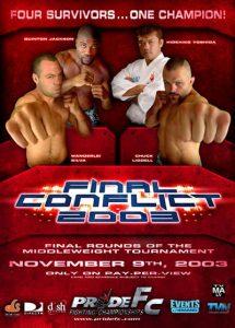 Pride Final Conflict 2003 2