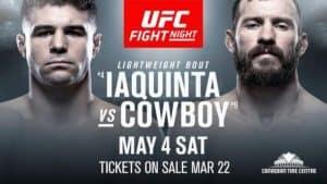 UFC Fight Night: Iaquinta vs. Cowboy 2