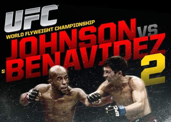 UFC on Fox: Johnson vs. Benavidez 2 1