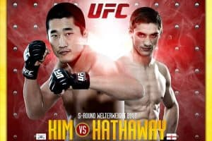 The Ultimate Fighter China Finale: Kim vs. Hathaway 2