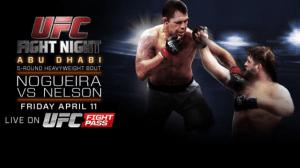 UFC Fight Night: Nogueira vs. Nelson 2