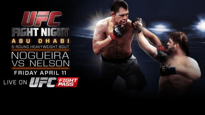 UFC Fight Night: Nogueira vs. Nelson 1