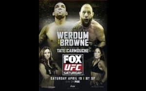 UFC on Fox: Werdum vs. Browne 2