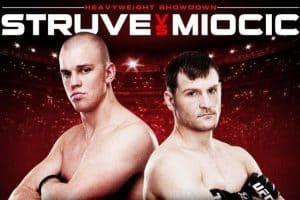UFC on Fuel TV: Struve vs. Miocic 2