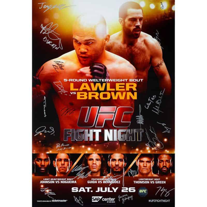 UFC on Fox: Lawler vs. Brown 1