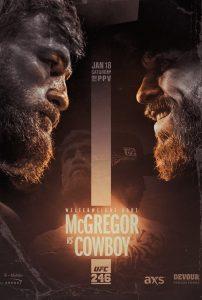 UFC 246: Conor McGregor vs. Donald Cowboy Cerrone 2