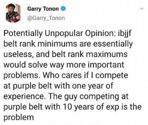 """Garry Tonon contro la IBJJF: """"I tempi minimi per tenere una cintura sono inutili"""" 2"""