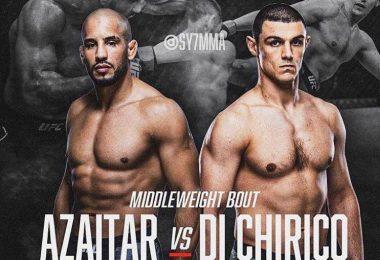 Annunciato il prossimo match di Alessio Di Chirico: UFC Fight Night 172 in Aprile 3