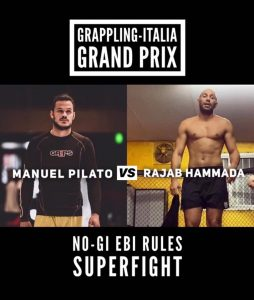 Annunciato il primo Superfight del Grappling-Italia Grand Prix 2! 2