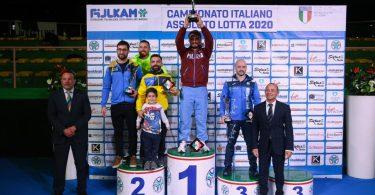 Risultati Campionati Italiani 2020 di Lotta al Pala Pellicone 1