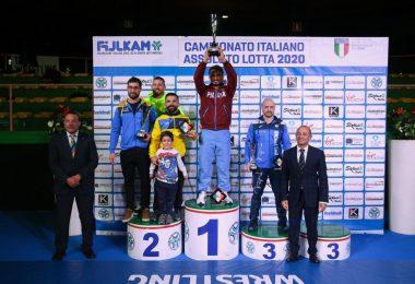 Risultati Campionati Italiani 2020 di Lotta al Pala Pellicone 8