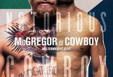 Risultati UFC 246: Mcgregor vs Cowboy Cerrone 1