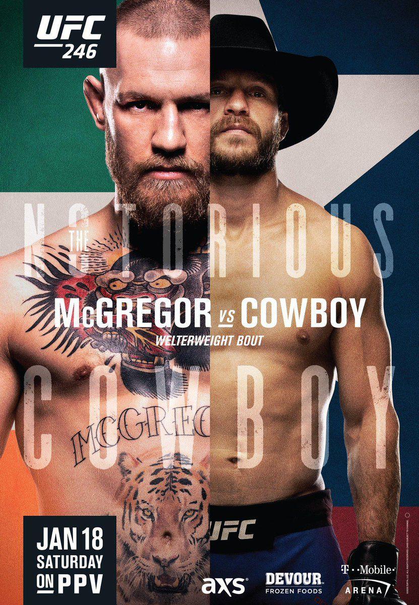 Risultati UFC 246: Mcgregor vs Cowboy Cerrone 4