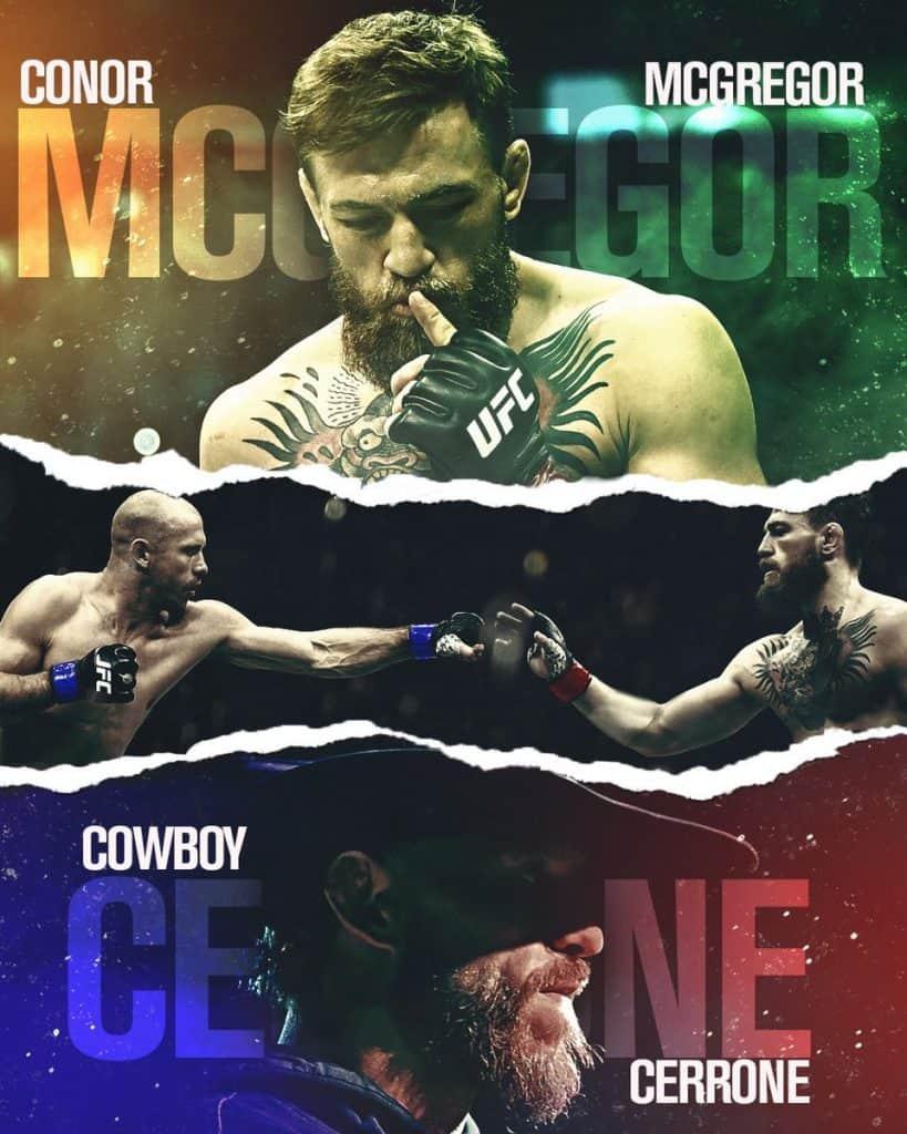 McGregor vs Cerrone: dove vederlo, a che ora... TUTTO quello che devi sapere 2