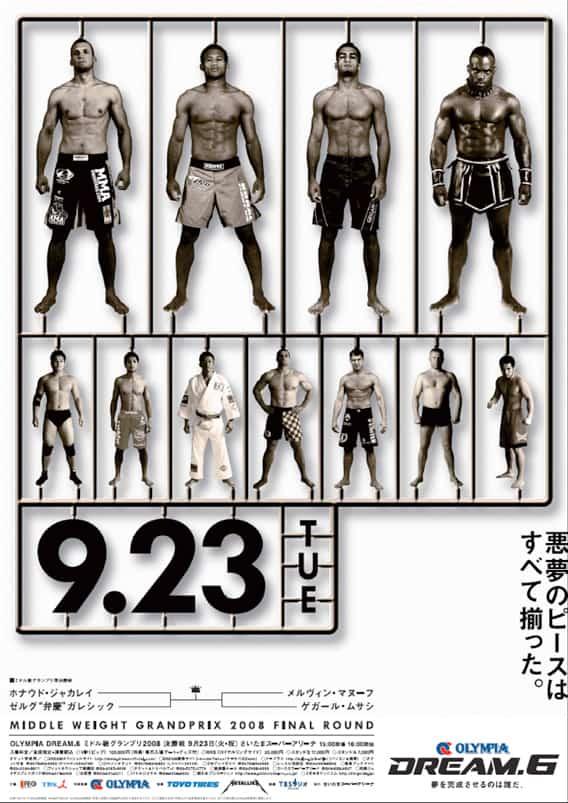 Dream MMA: retrospettiva e poster 7